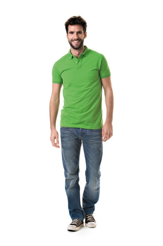 Polo Fit Heavy Mix SS